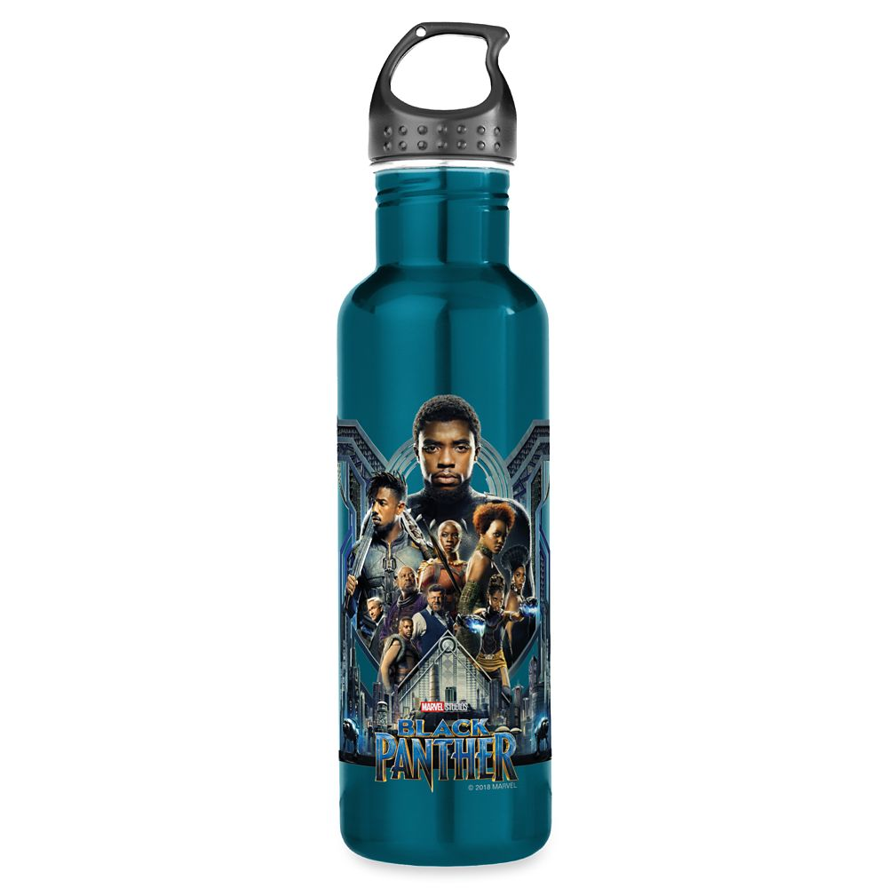 Black Panther Wakanda Water Bottle – Customizable