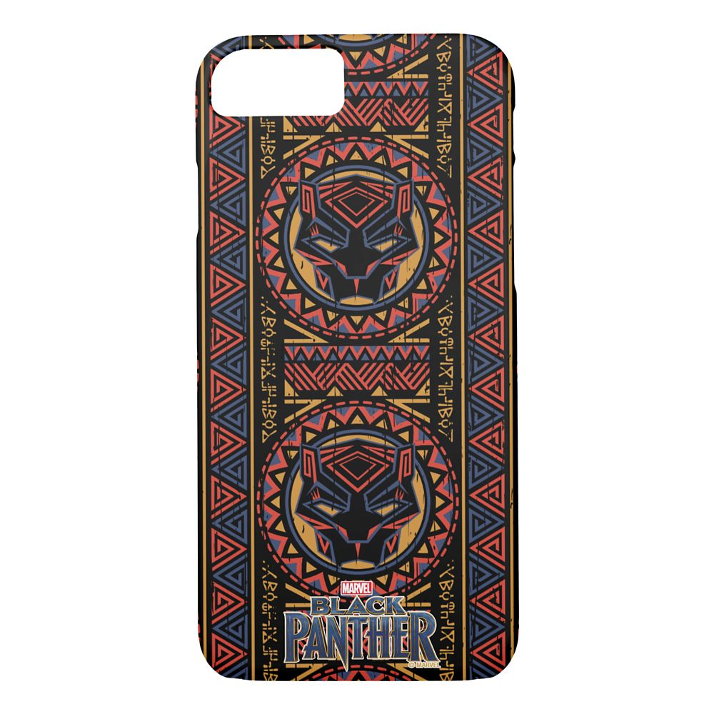 Black Panther Pattern iPhone 8/7 Case – Customizable