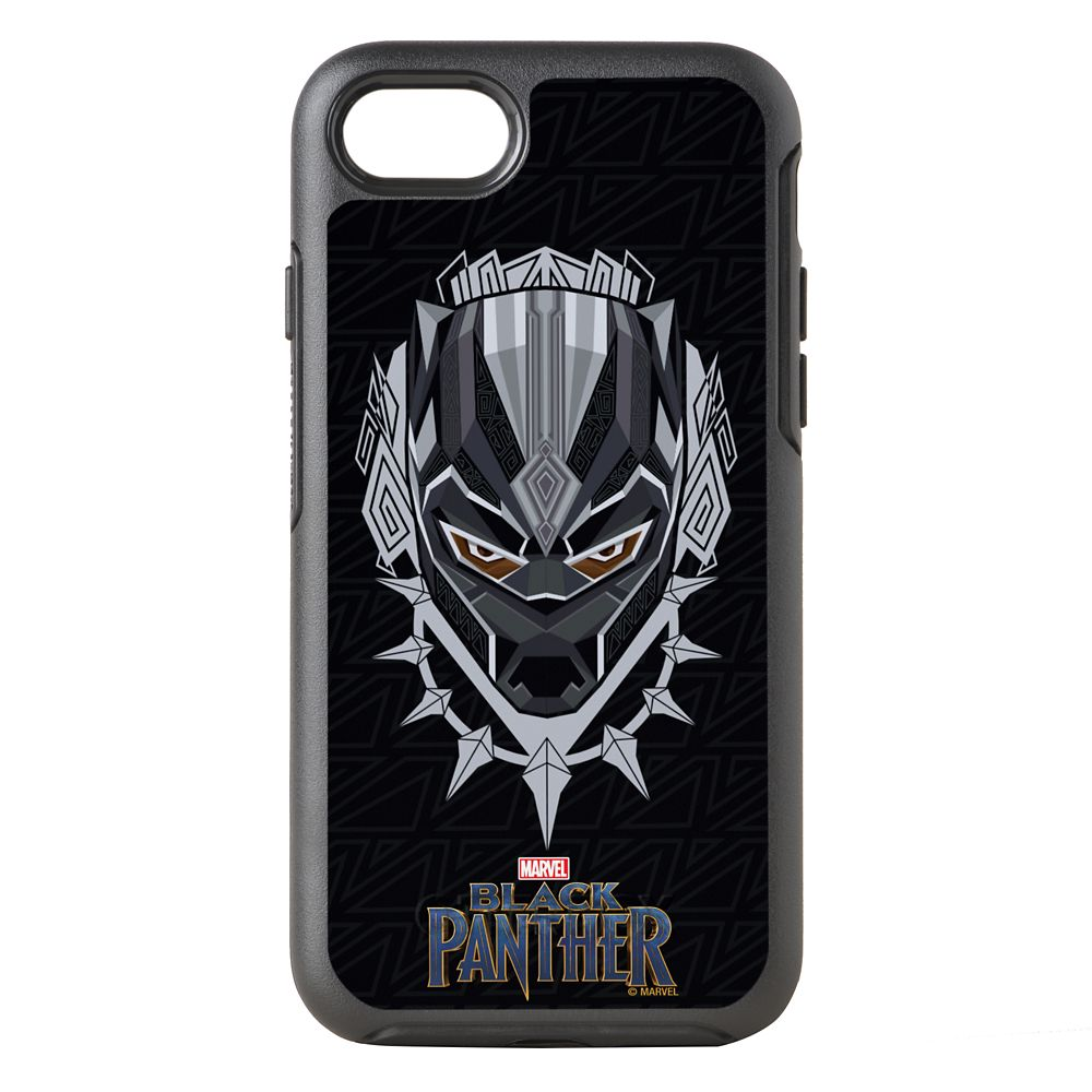 Black Panther Emblem Otterbox Symmetry iPhone 8/7  Case – Customizable