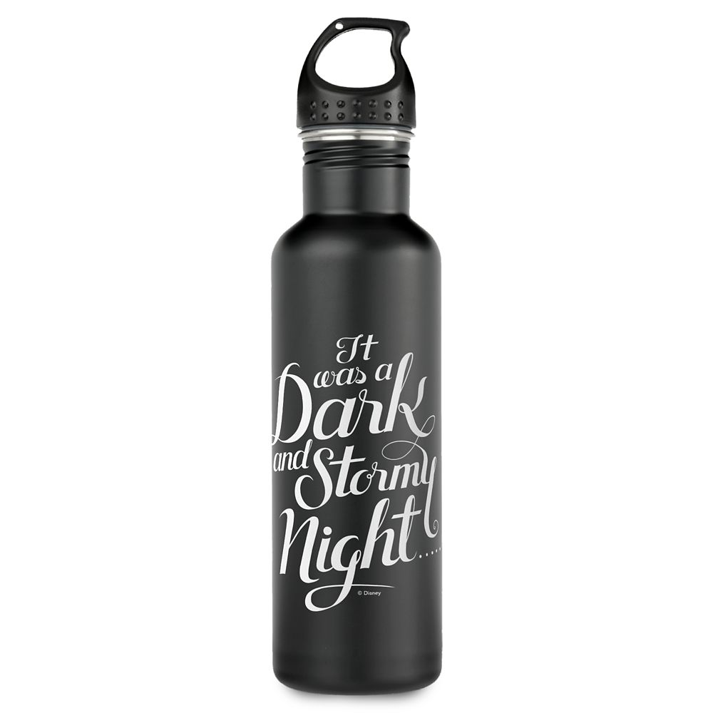 ''It Was a Dark and Stormy Night'' Water Bottle  A Wrinkle in Time  Customizable Official shopDisney
