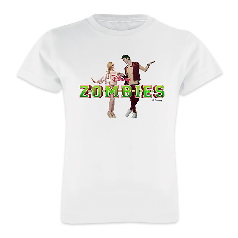 ZOMBIES: Zed&Addison Holding Hands T-Shirt for Girls – Customizable