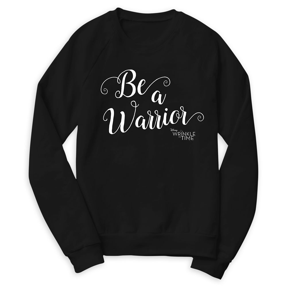 A Wrinkle in Time ''Be a Warrior'' Raglan Sweatshirt for Women  Customizable Official shopDisney