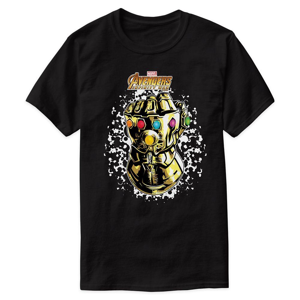 Marvel's Avengers: Infinity War Infinity Gauntlet T-Shirt for Men – Customizable
