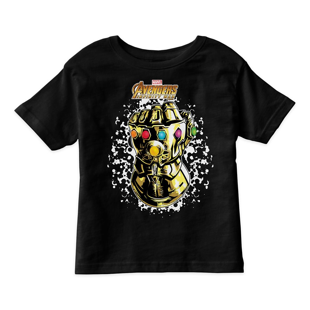 Marvel's Avengers: Infinity War Infinity Gauntlet T-Shirt for Kids  Customizable Official shopDisney