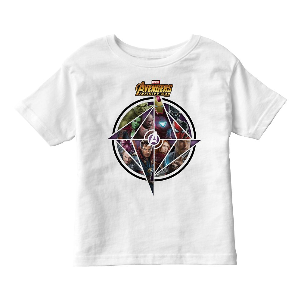 Marvel's Avengers: Infinity War Geometric Icon T-Shirt for Kids – Customizable