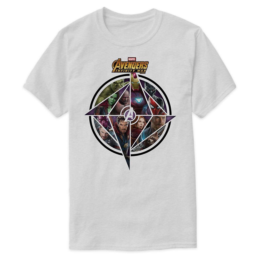 Marvel's Avengers: Infinity War Geometric Icon T-Shirt for Men  Customizable Official shopDisney