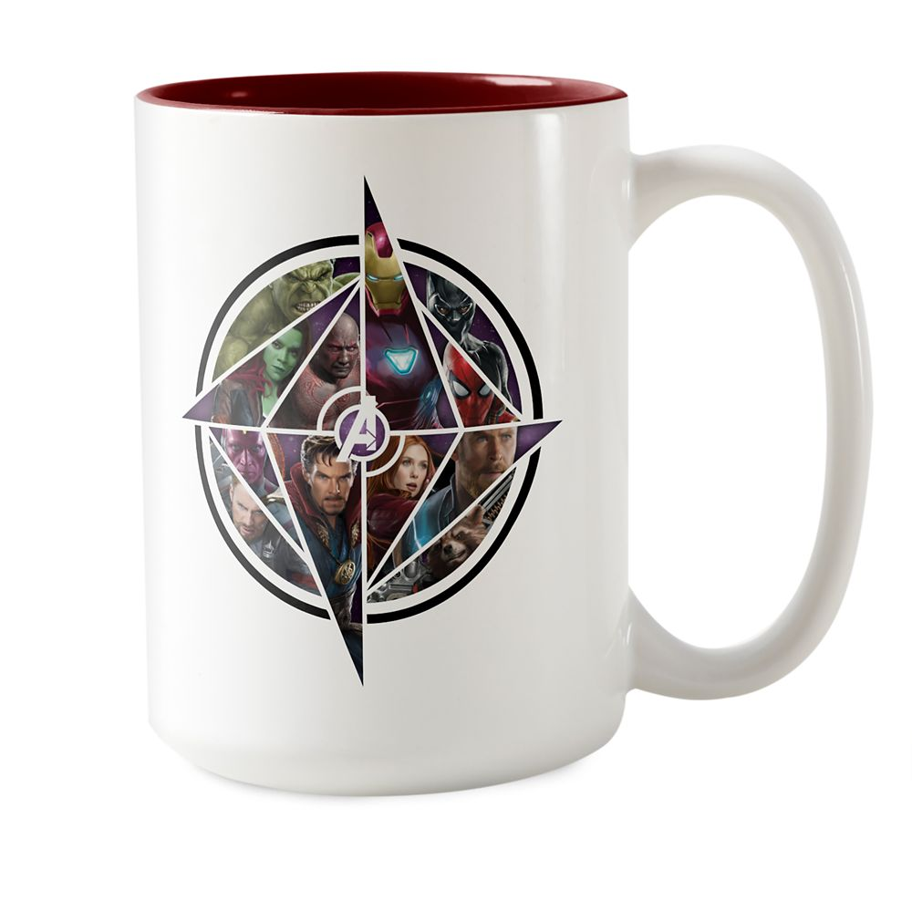 Marvel's Avengers: Infinity War Geometric Icon Mug – Customizable