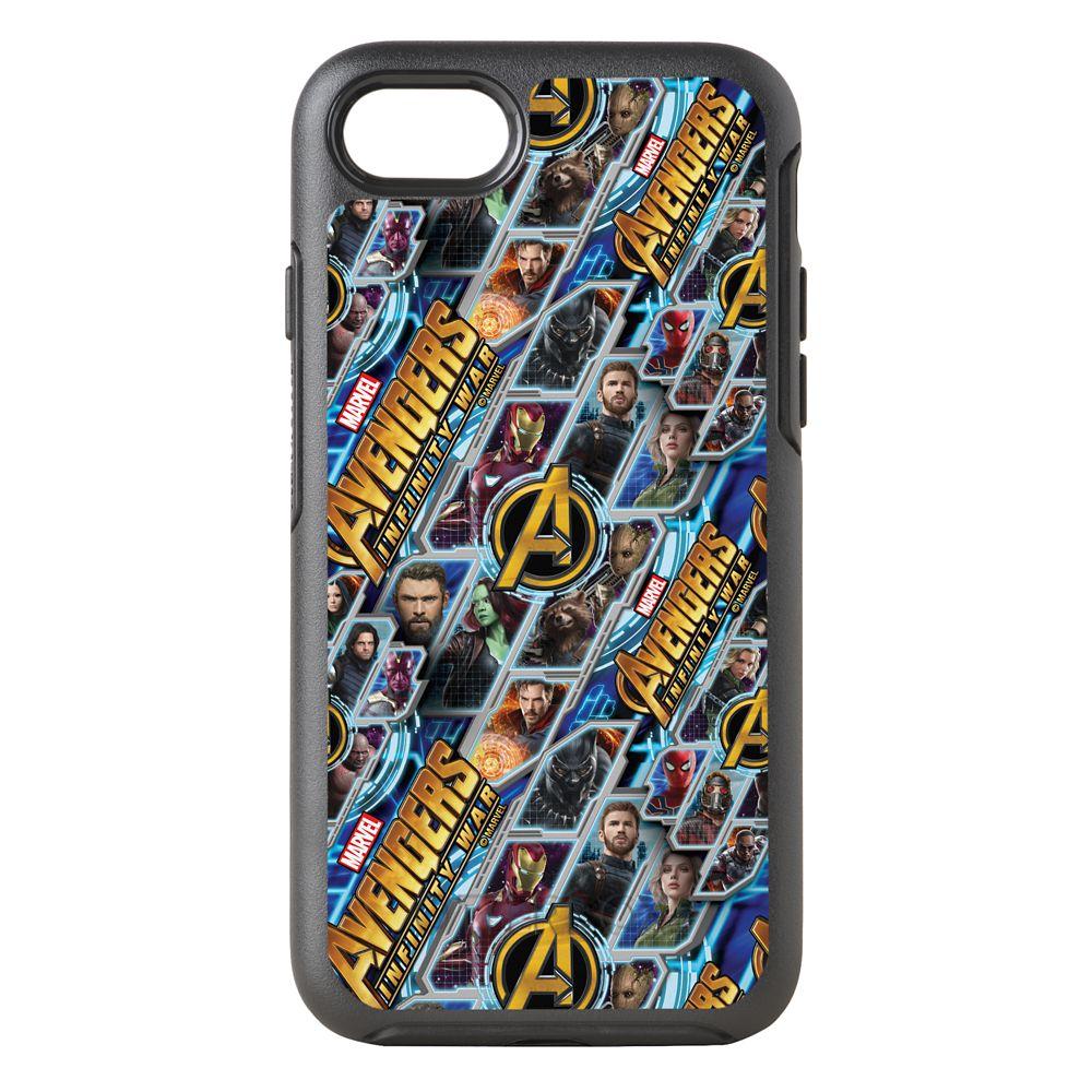 Marvel's Avengers: Infinity War Pattern Otterbox iPhone 8/7 Case – Customizable
