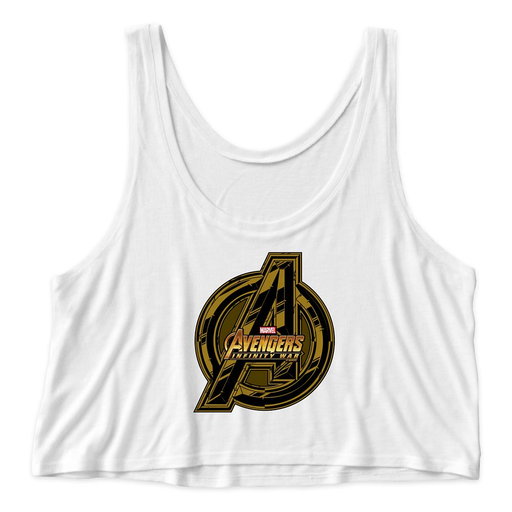Marvel's Avengers: Infinity War Icon Cropped Tank Top for Women  Customizable Official shopDisney