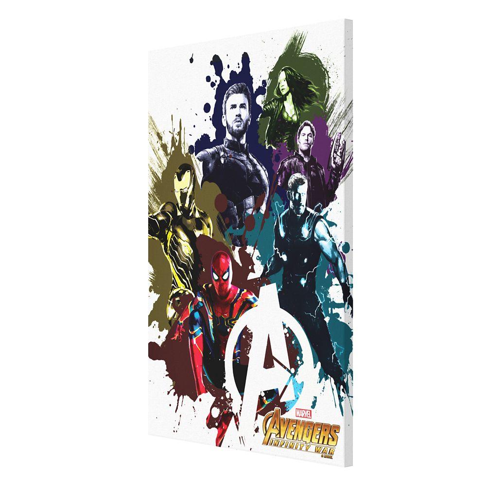 Marvel's Avengers: Infinity War Paint Splatter Canvas Print – Customizable