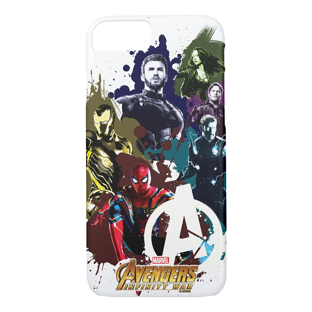 Marvel's Avengers: Infinity War Paint Splatter iPhone 8/7 Case – Customizable