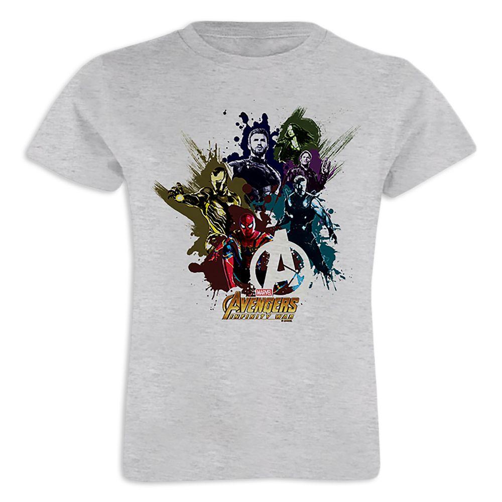 Marvel's Avengers: Infinity War Paint Splatter T-Shirt for Girls  Customizable Official shopDisney