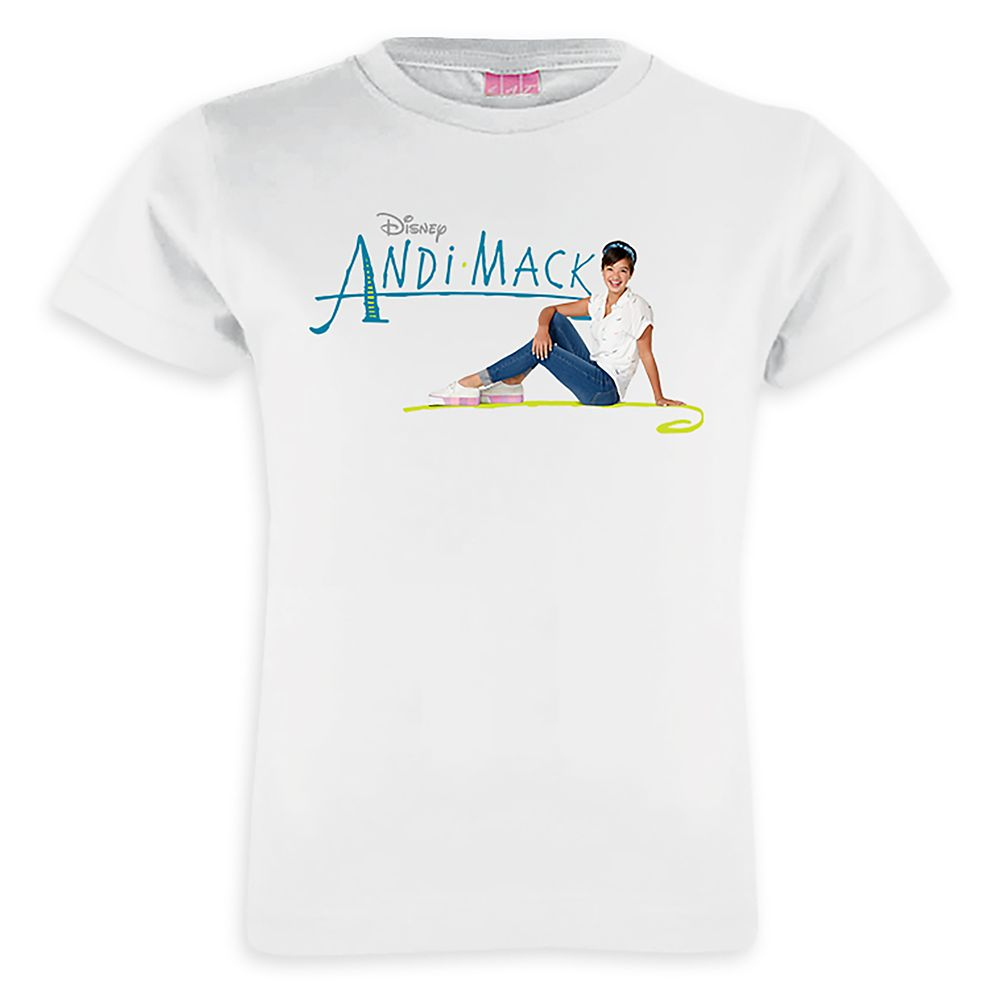 Andi Mack T-Shirt for Girls  Customizable Official shopDisney