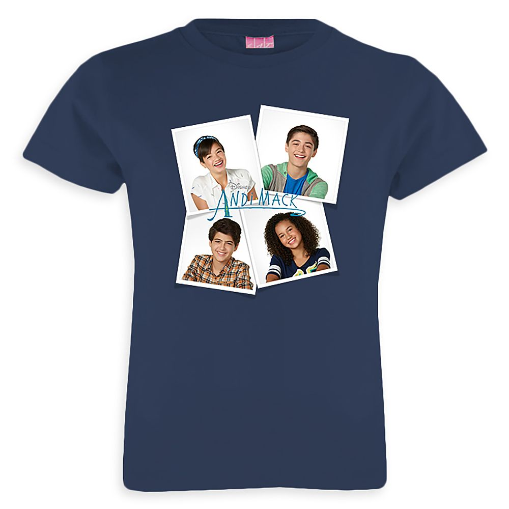 Andi Mack Polaroids T-Shirt for Girls  Customizable Official shopDisney