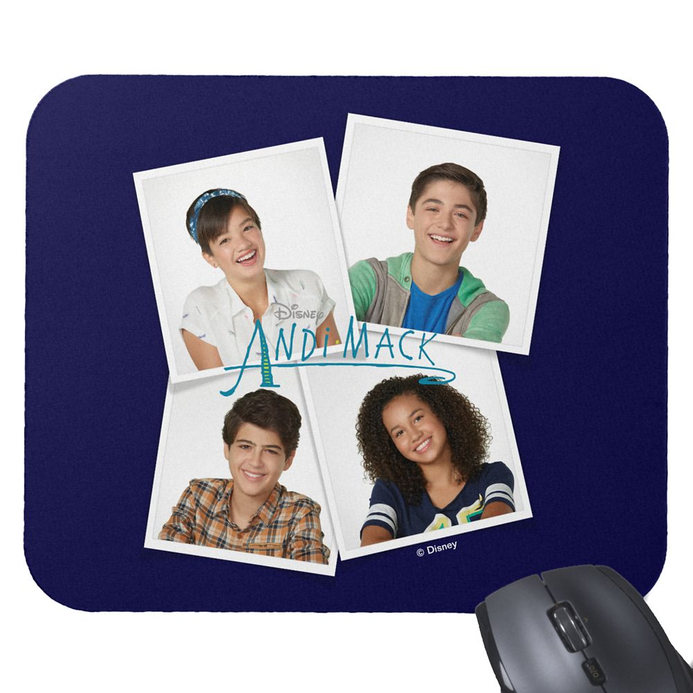 Andi Mack Polaroids Mouse Pad – Customizable