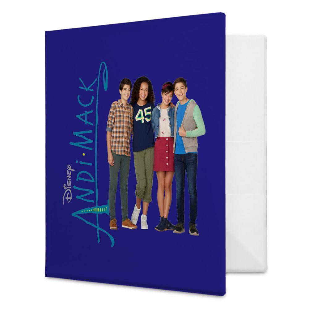 Andi Mack Group Binder  Customizable Official shopDisney