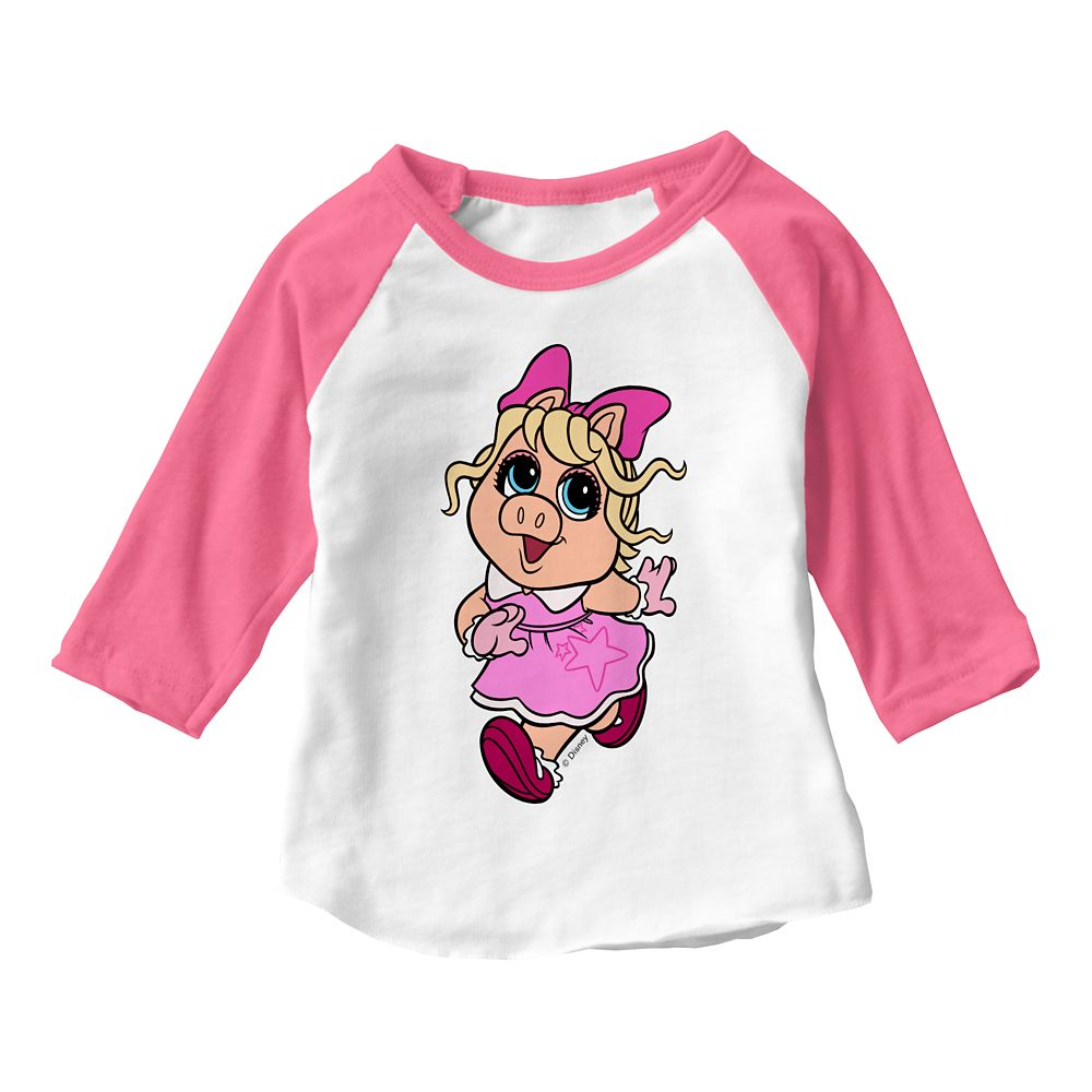 Miss Piggy: Muppet Babies Raglan T-Shirt for Baby – Customizable