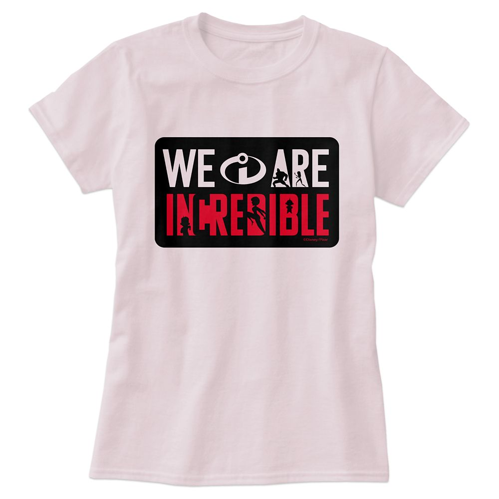 Incredibles 2 ''We Are Incredible'' T-Shirt for Women – Customizable