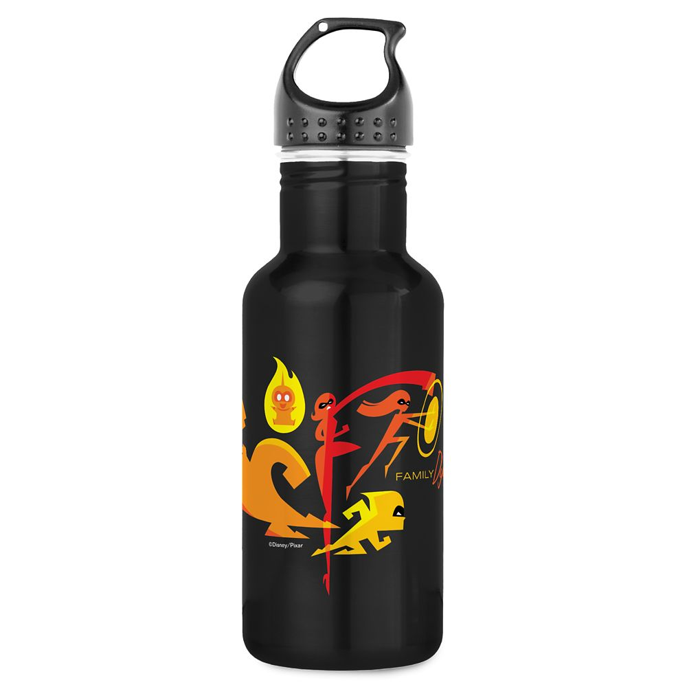 Incredibles 2 Family Dynamic Water Bottle – Customizable