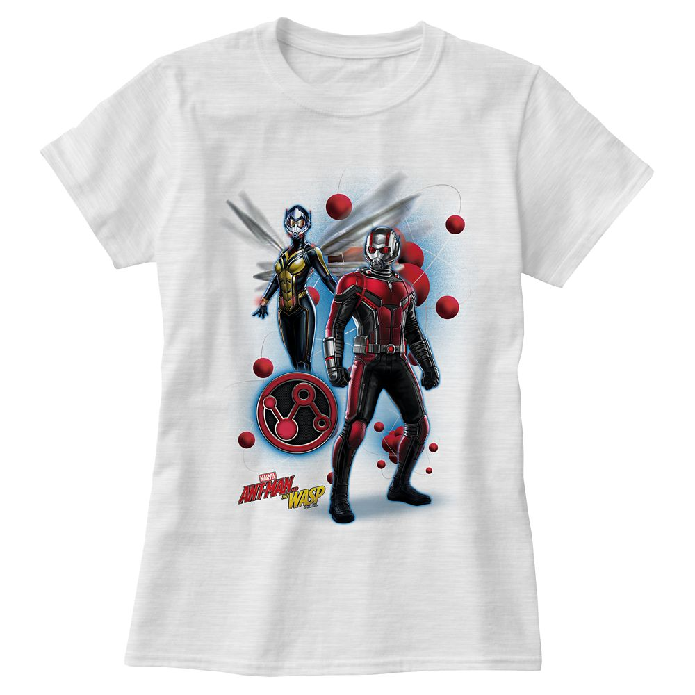 Ant-Man and The Wasp: Pym Particles Badge T-Shirt for Women  Customizable Official shopDisney