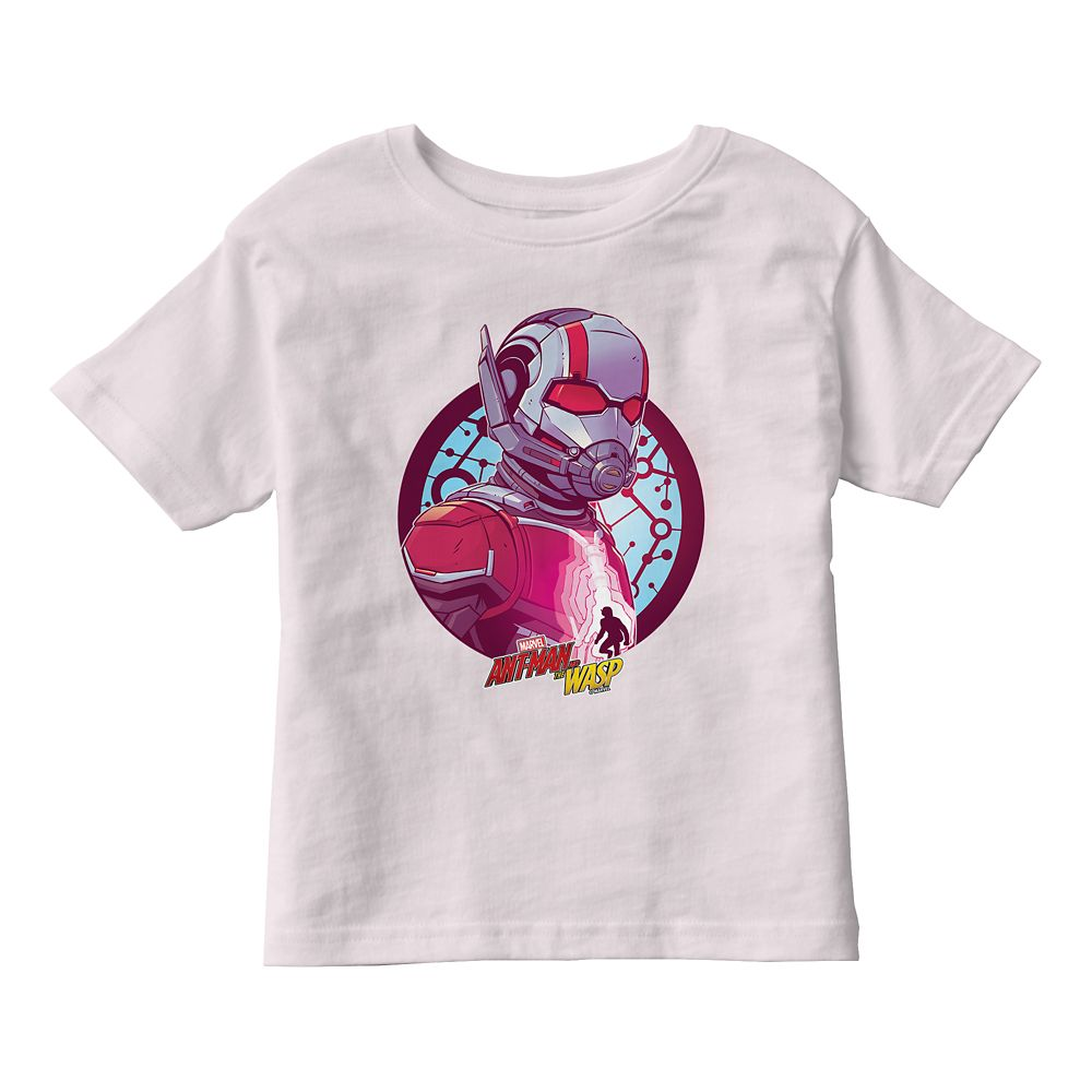 Ant-Man and the Wasp: Molecular Badge T-Shirt for Girls – Customizable