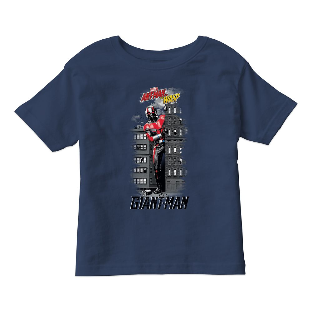 Ant-Man and the Wasp: Giant-Man Between Buildings T-Shirt for Boys  Customizable Official shopDisney