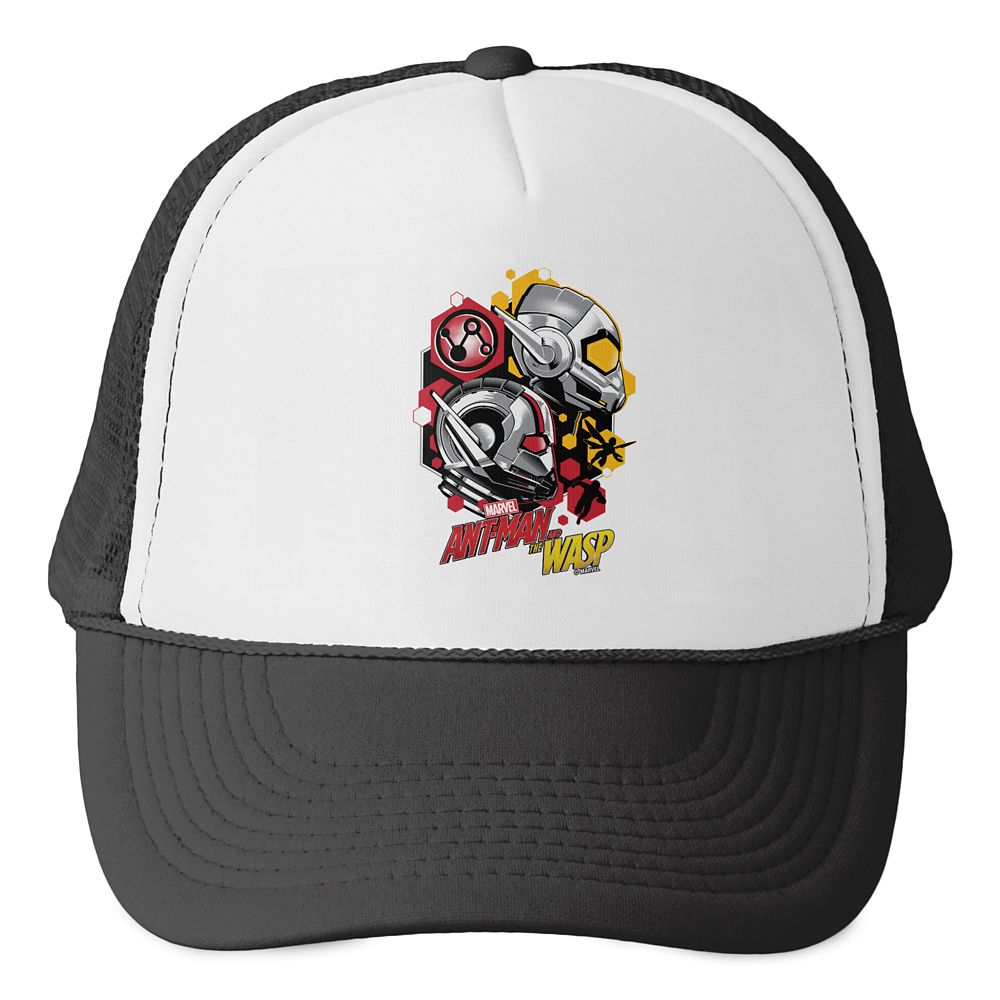 Ant-Man and the Wasp: Hexagonal Helmet Icons Trucker Hat  Customizable Official shopDisney
