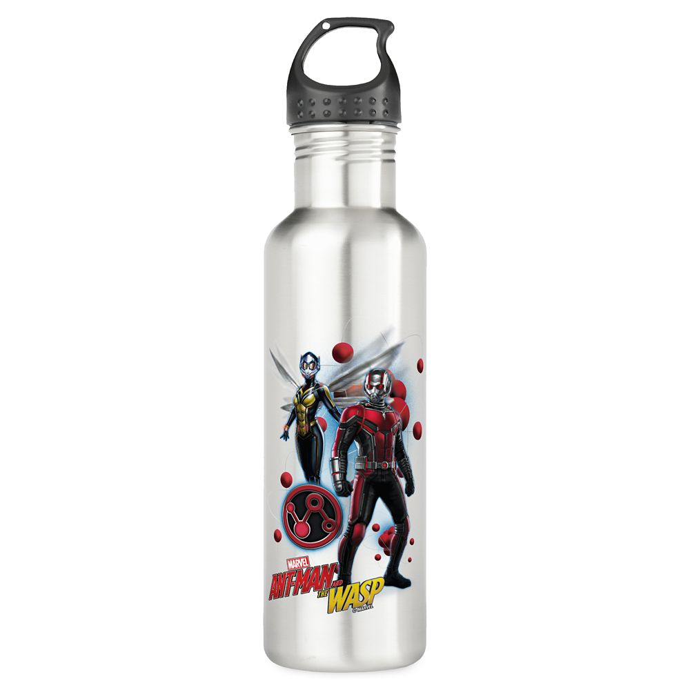 Ant-Man and The Wasp: Pym Particles Badge Stainless Steel Water Bottle  Customizable Official shopDisney