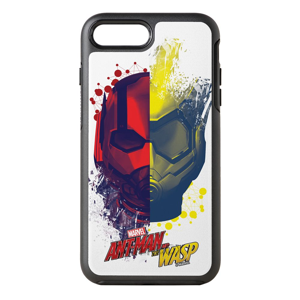 Ant-Man and the Wasp: Split Helmet Graphic OtterBox Symmetry iPhone 8 Plus/7 Plus Case – Customizable