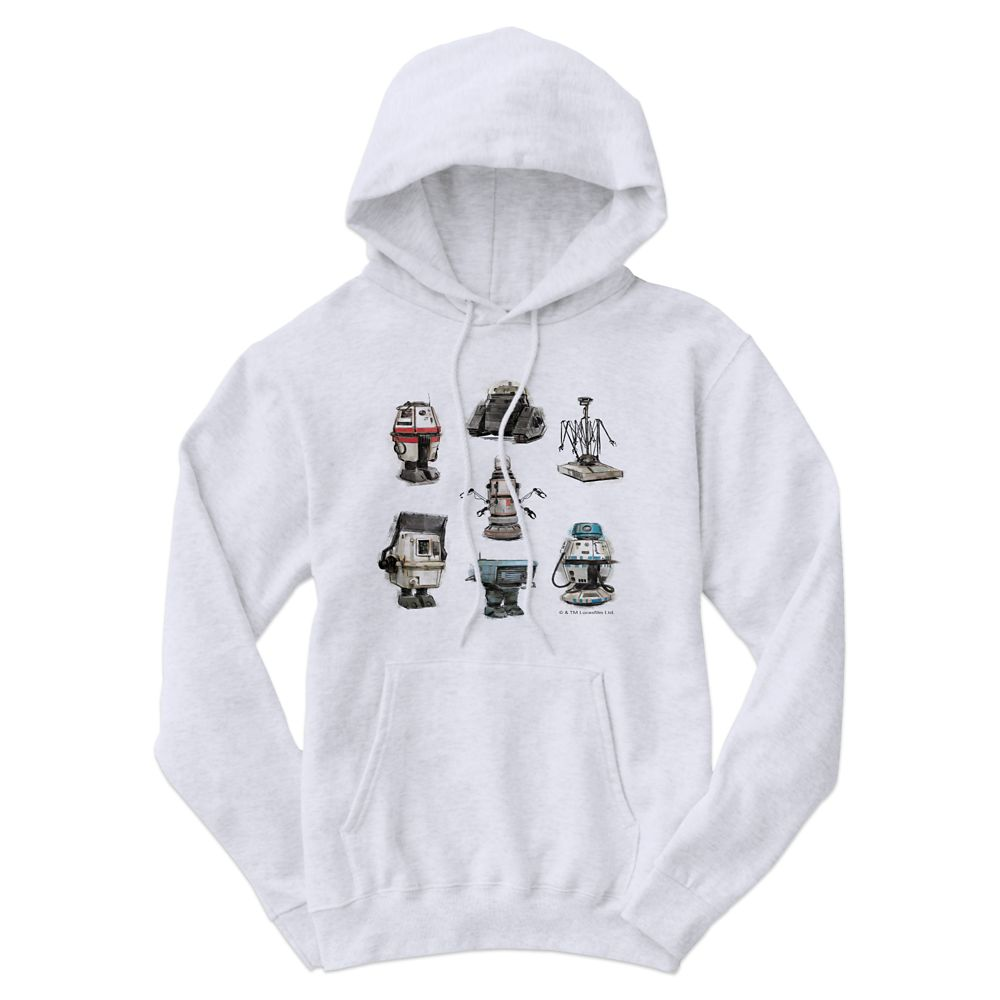 Solo: A Star Wars Story Droids Hoodie for Men  Customizable Official shopDisney