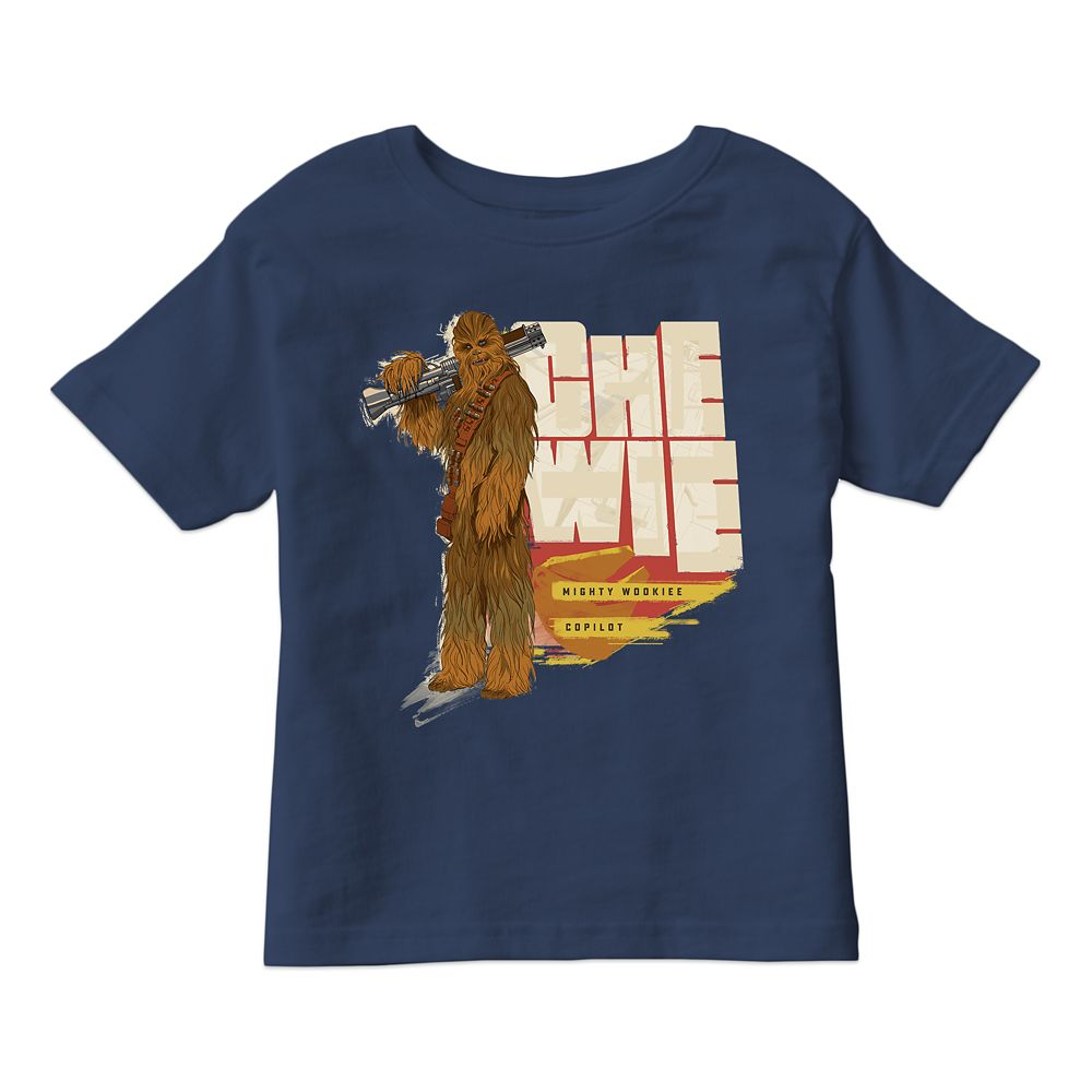 Solo: A Star Wars Story Chewbacca T-Shirt for Boys – Customizable