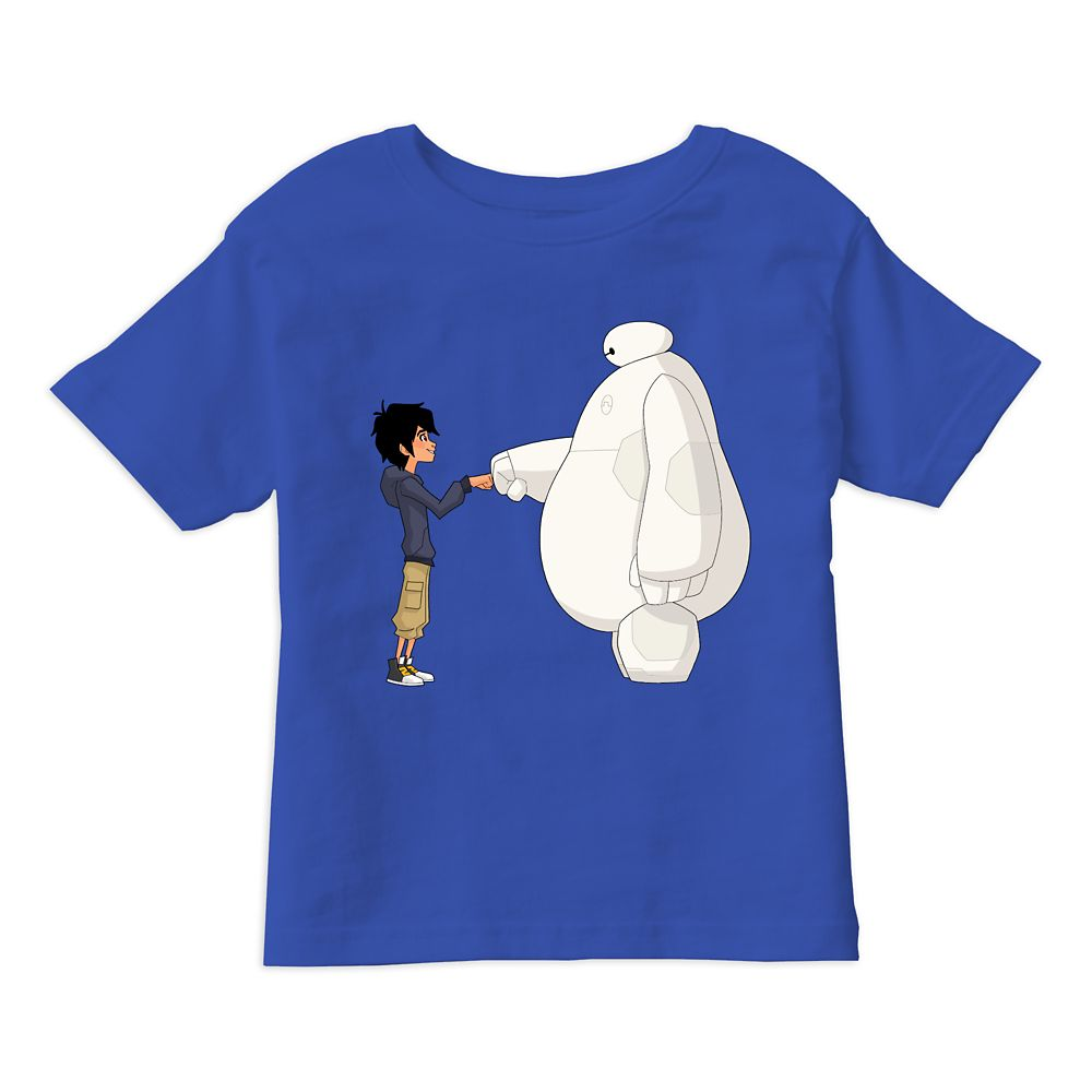 Big Hero 6: The Series Fist Bump T-Shirt for Boys – Customizable