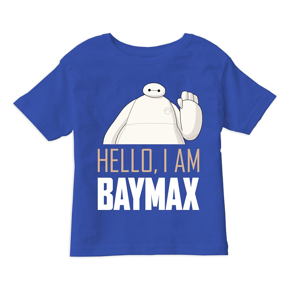 Big Hero 6: The Series I am Baymax T-Shirt for Boys – Customizable