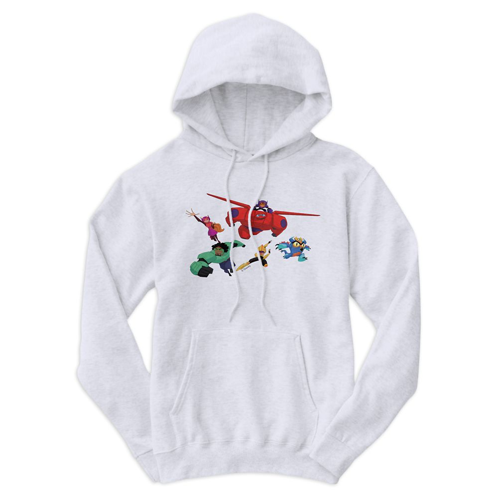Big Hero 6: The Series Hoodie for Men – Customizable