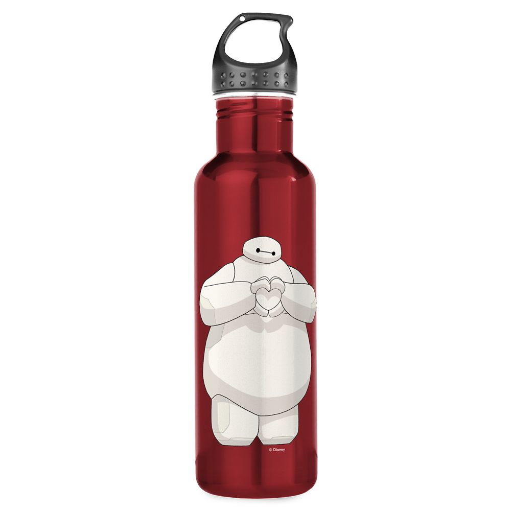 Big Hero 6: The Series Baymax Water Bottle  Customizable Official shopDisney