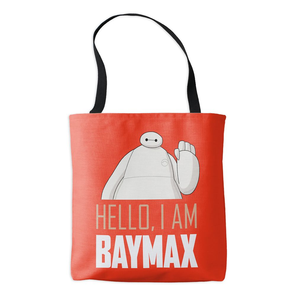 Big Hero 6: The Series I am Baymax Tote Bag – Customizable