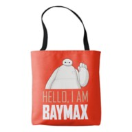 Big Hero 6: The Series I am Baymax Tote Bag – Customizable