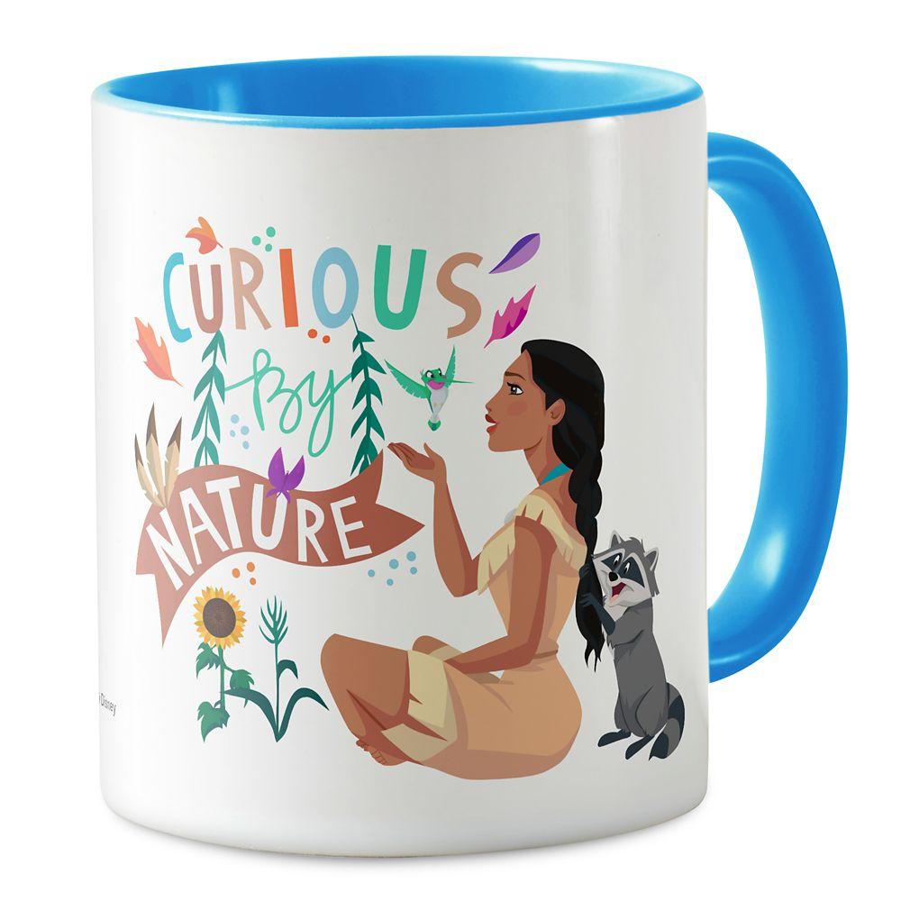 Pocahontas ''Curious By Nature'' Mug – Customizable