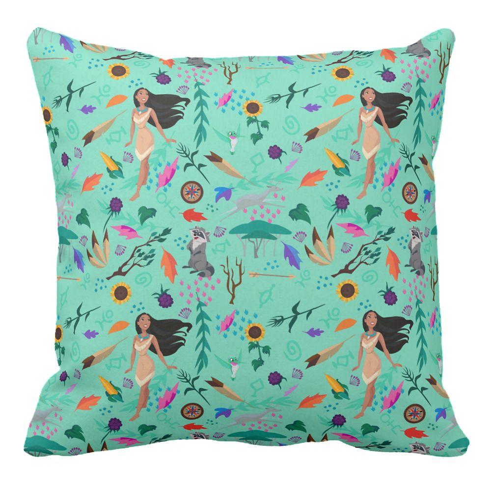 Pocahontas Throw Pillow – Customizable