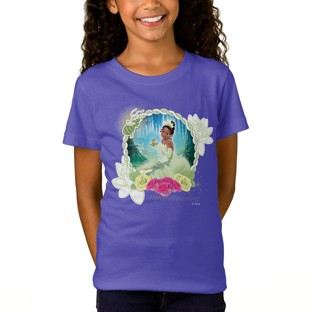 Tiana ''I am a Princess'' T-Shirt for Girls – Customizable