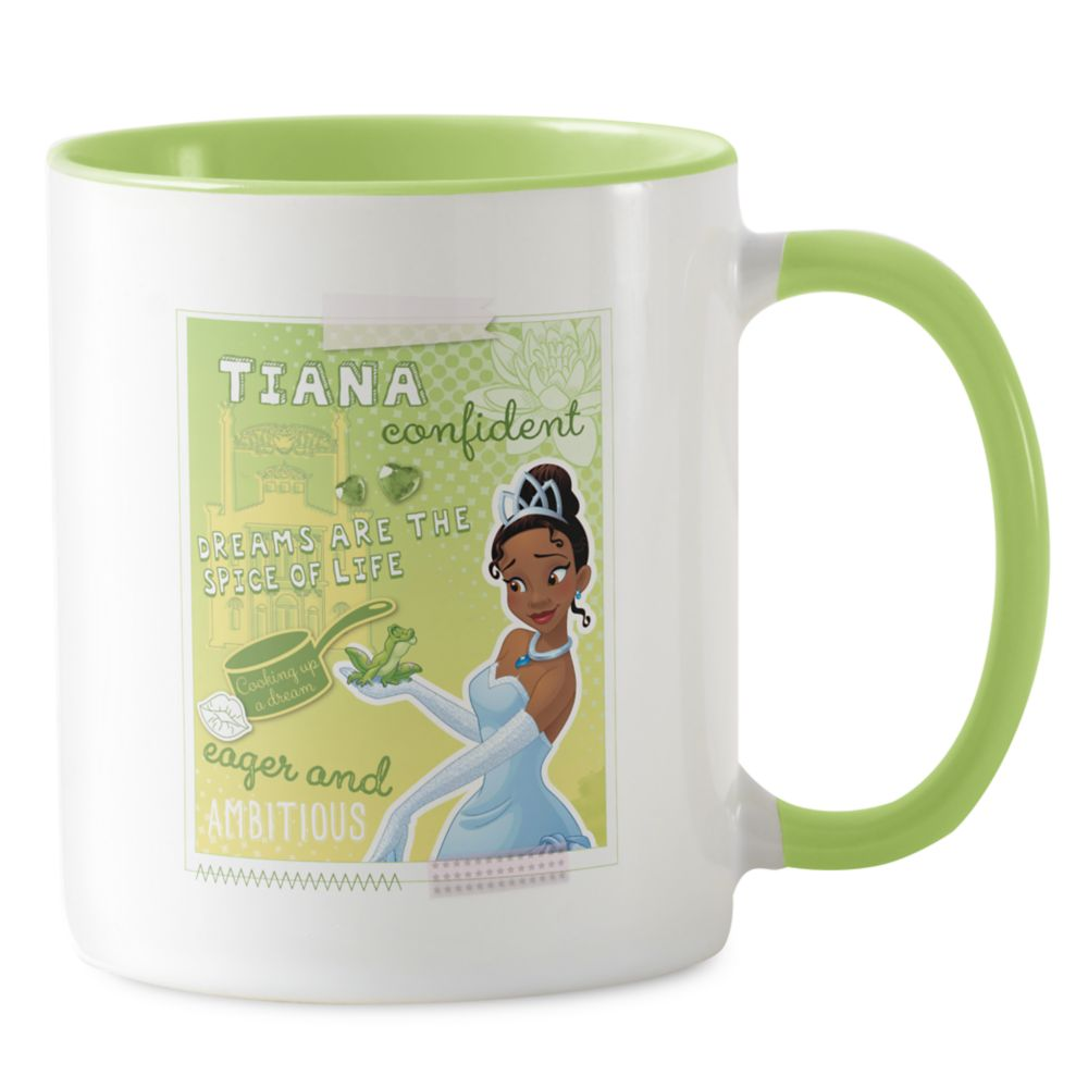 Tiana ''Eager and Ambitious'' Mug  Customizable Official shopDisney