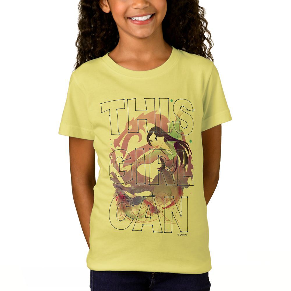 Mulan ''This Girl Can'' T-Shirt for Girls – Customizable
