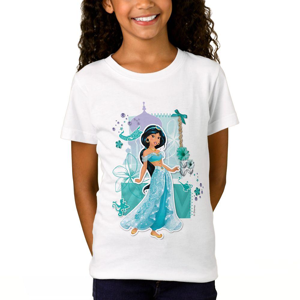 Jasmine ''Courageous'' T-Shirt for Girls  Customizable Official shopDisney