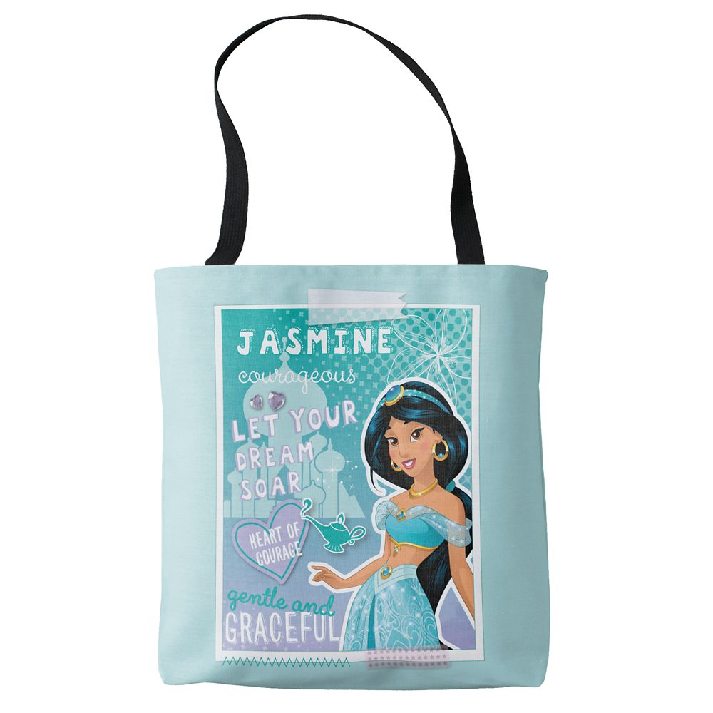 "shopdisney.com - Jasmine ""Let Your Dreams Soar"" Tote Bag  Customizable Official shopDisney 19.95 USD"