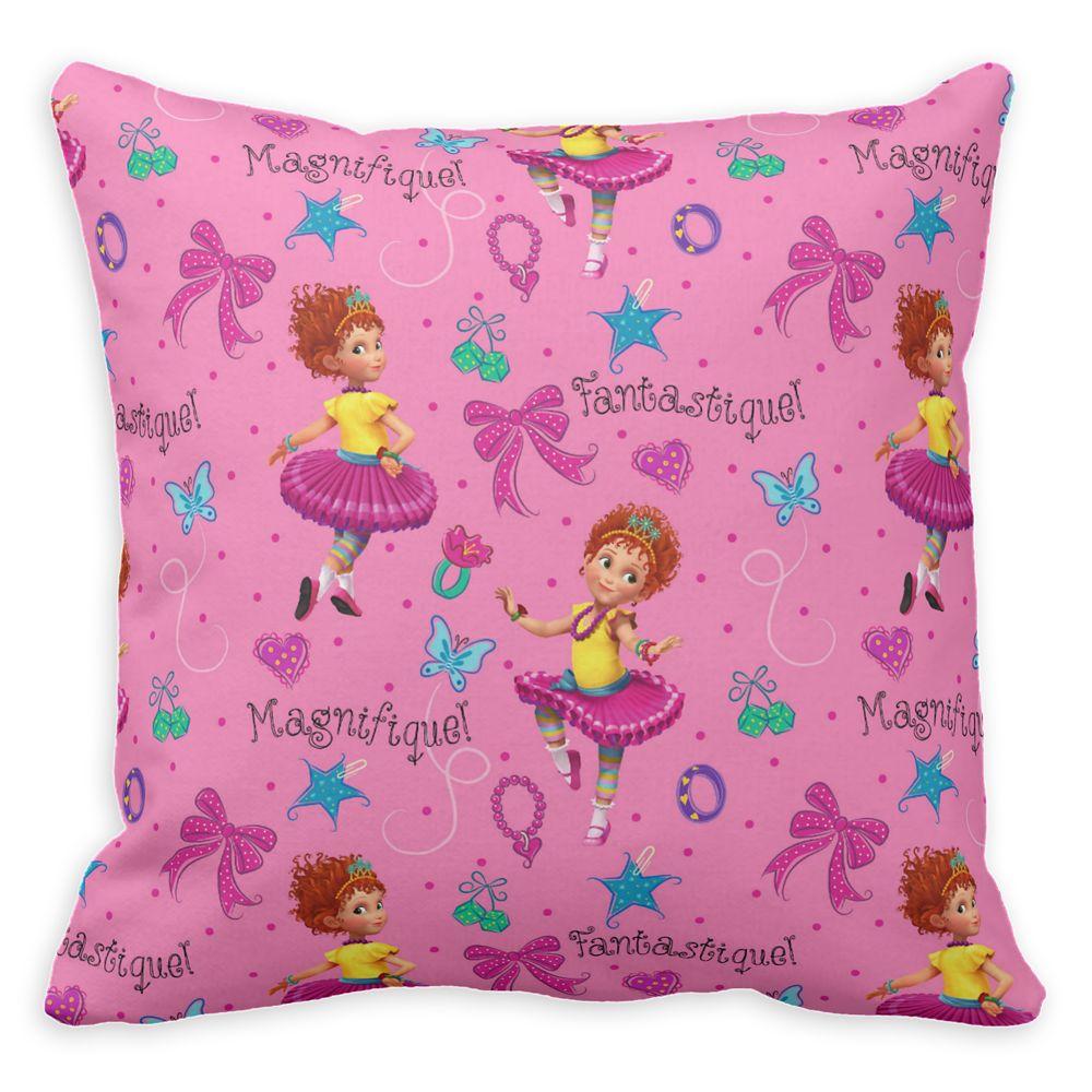 Fancy Nancy: Magnifique Pink Pattern Throw Pillow  Customizable Official shopDisney