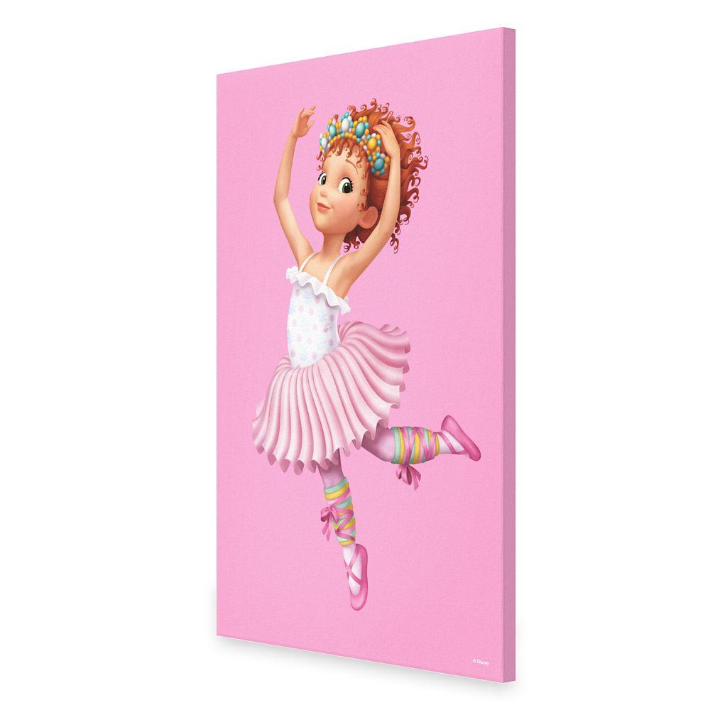 Fancy Nancy: Ballerina Outfit Canvas Print  Customizable Official shopDisney