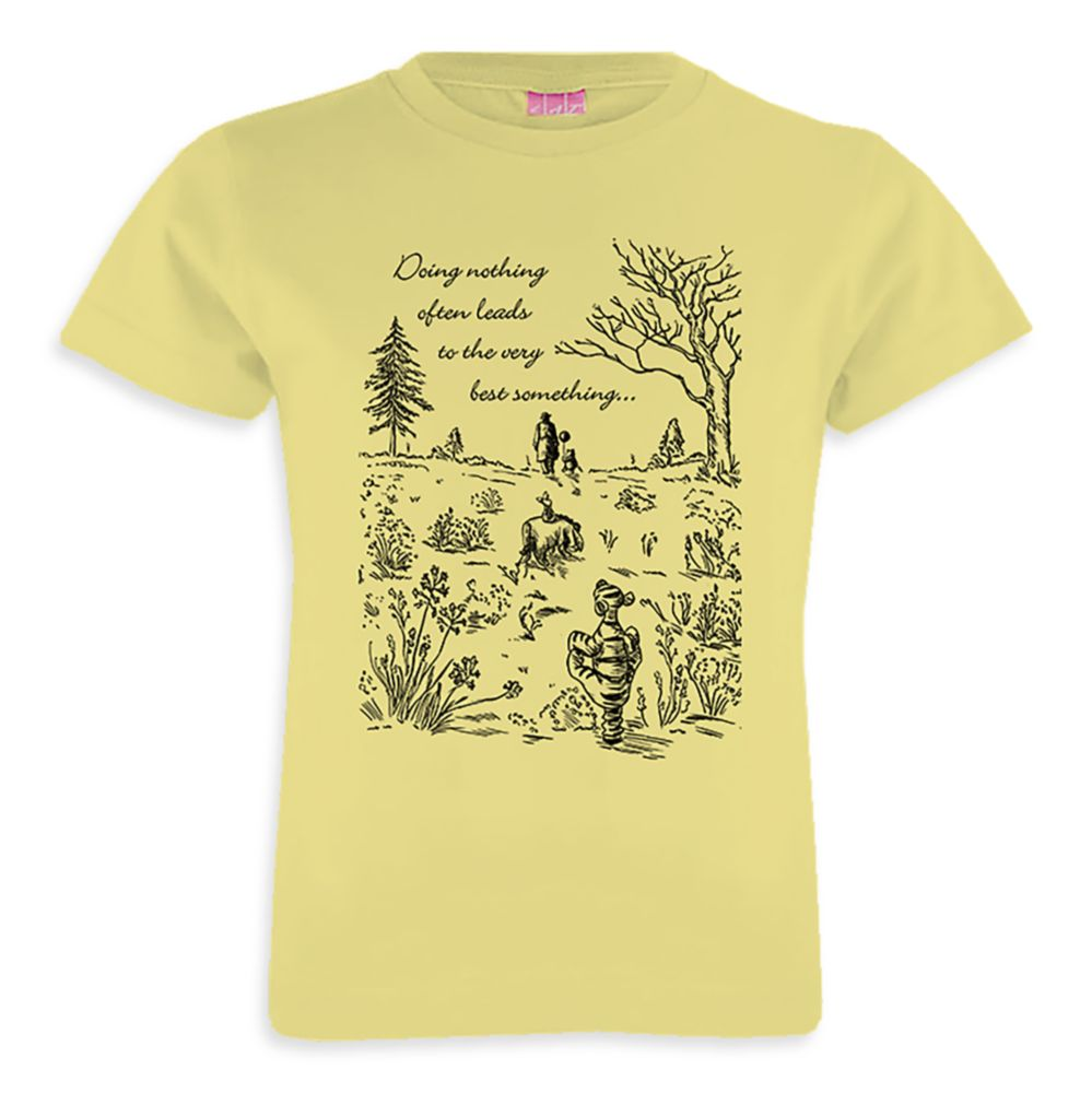 Winnie the Pooh and Friends Very Best Something T-Shirt – Christopher Robin – Customizable