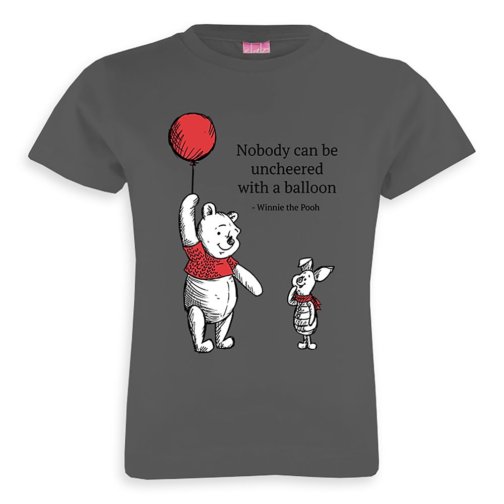 Winnie the Pooh and Piglet Balloon T-Shirt – Christopher Robin – Customizable