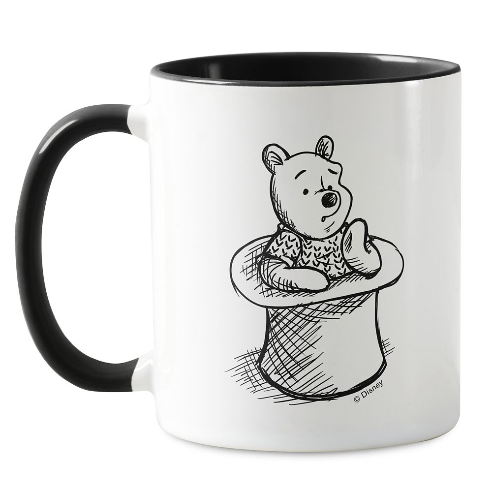 Winnie the Pooh Think Think Think Mug – Christopher Robin – Customizable