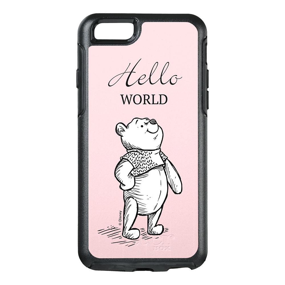 Winnie the Pooh Hello World iPhone 8/7 Case – Christopher Robin – Customizable